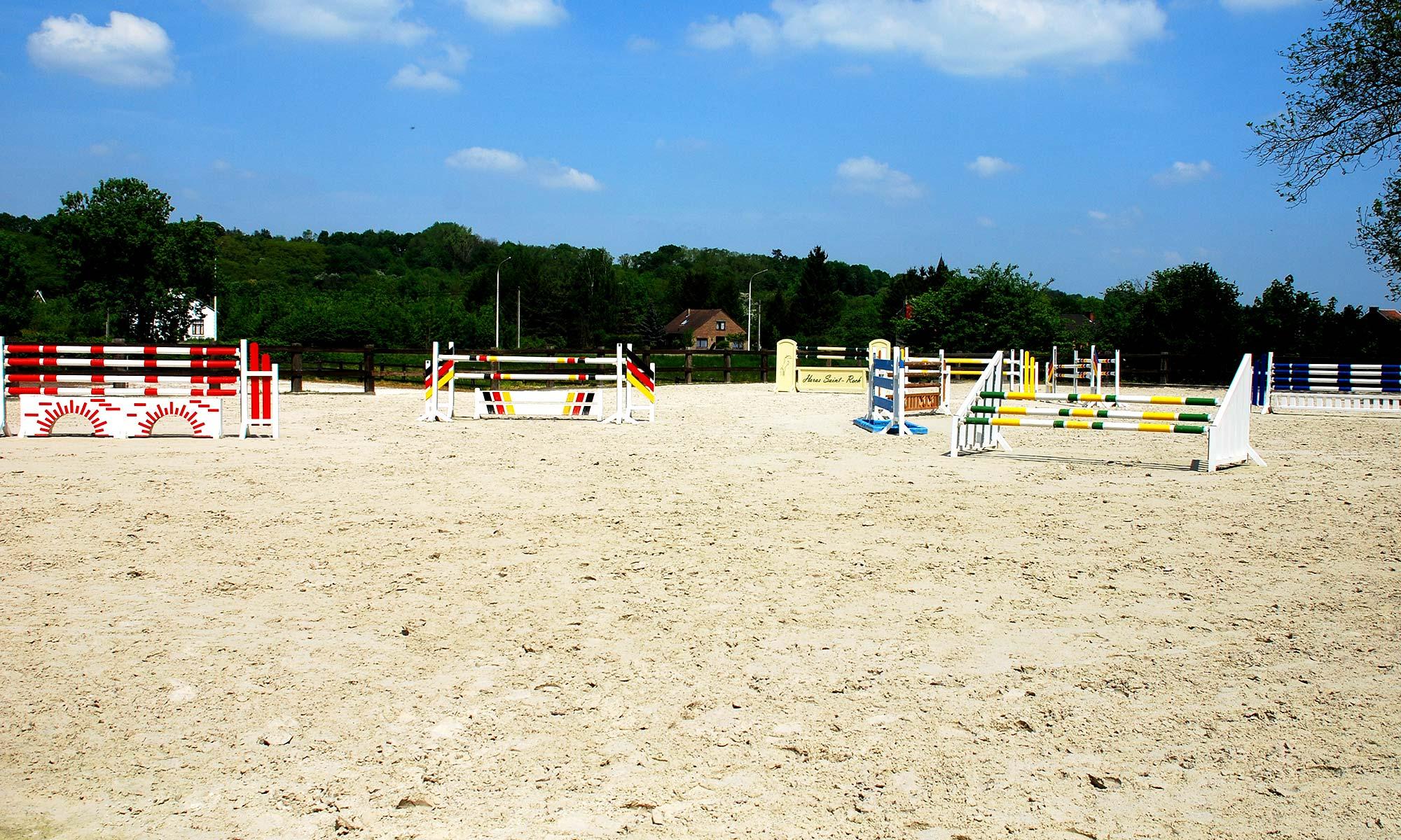 Piste sable extérieure